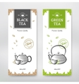 Tea design package vector image
