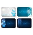 Beautiful Christmas and New Year Gift Card vector image