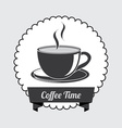 coffe design vector image