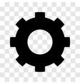 gear icon - iconic design vector image