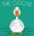 Goose mascot vector image