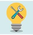 idea tools icon vector image