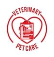 vet clinic design vector image