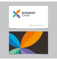 business card 05 vector image
