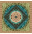 Vegetal Mandala vector image vector image