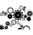 gears clockwork vector image