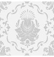 Damask Floral Pattern vector image vector image