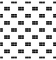 Postal parcel pattern vector image