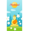 Thailand Travel Poster vector image