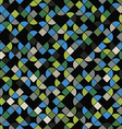 Seamless mosaic pattern design vector image