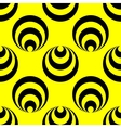 Polka dot and circle geometric seamless pattern 29 vector image