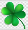 saint patricks day happy clover eps 10 vector image