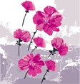 beauty as flowers vector image