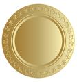 Gold bin vector image