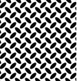 Seamless monochrome diagonal ellipse pattern vector image