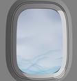 window plane vector image