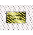 do not enter vector image vector image