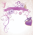 fairies and flowers vector image vector image