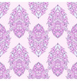 Floral leaf pink lotus vector image