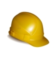 Yellow safety helmet vector image vector image