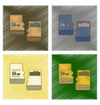 assembly flat shading style icon micro sd vector image