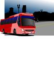 al 0216 bus 02 vector image vector image