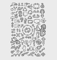Arrow Icons Sketch vector image vector image