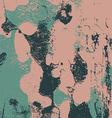 Grunge retro vintage painted paper texture color vector image
