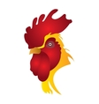 Isolated rooster vector image