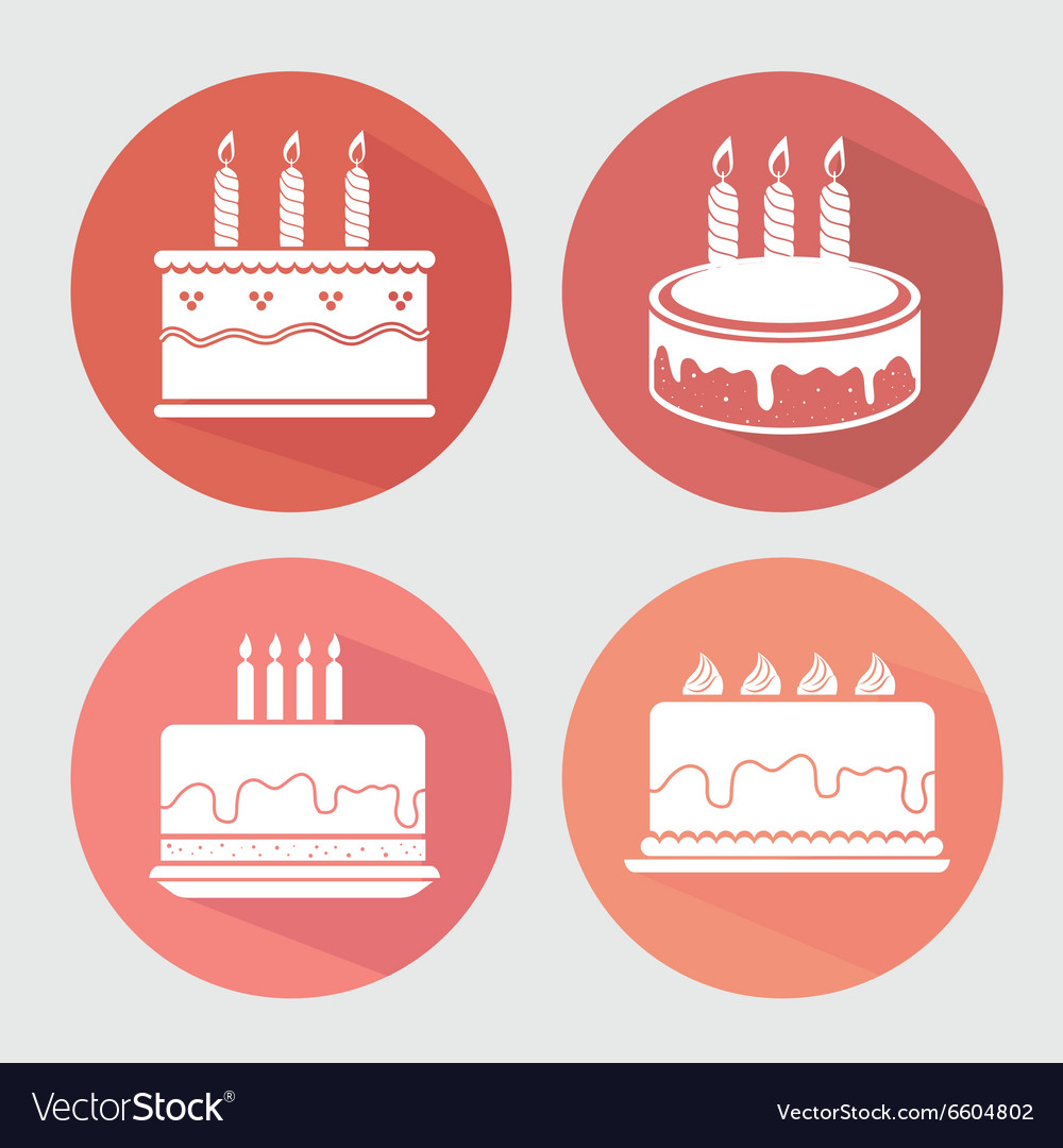 Happy birthday colorful card vector