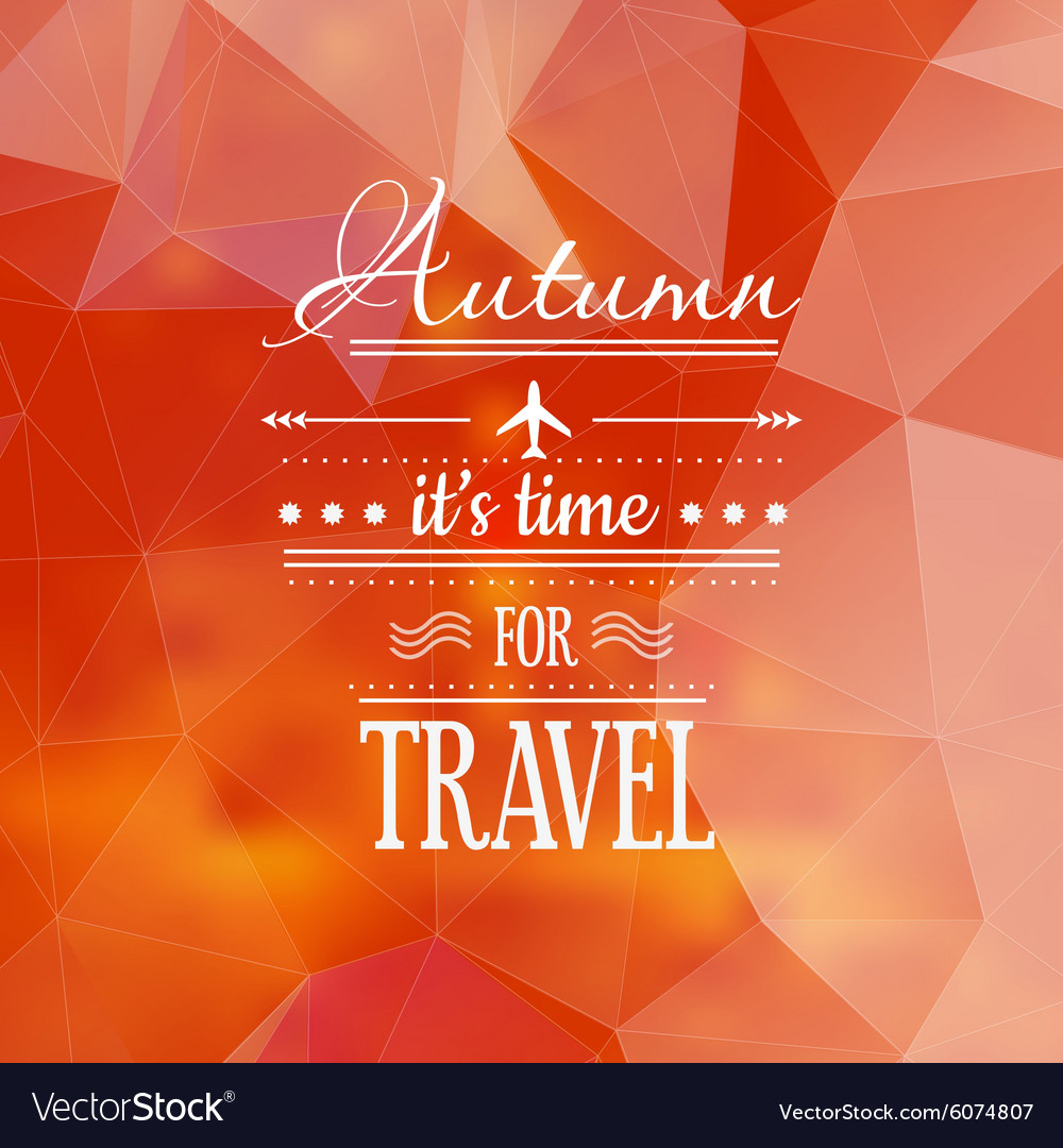 Vintage bright fall sale background vector