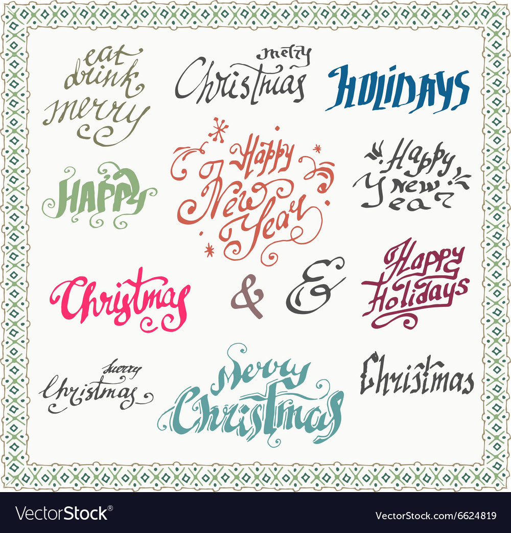 Christmas wishes card vector