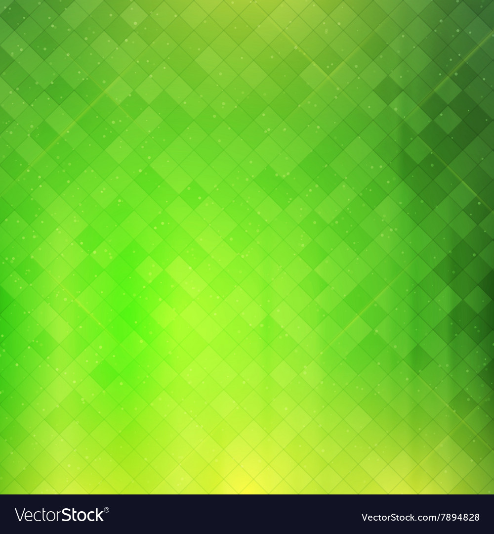 Green checkered background vector