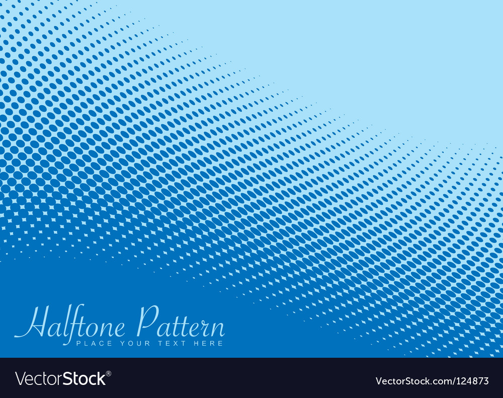 Wave halftone pattern vector