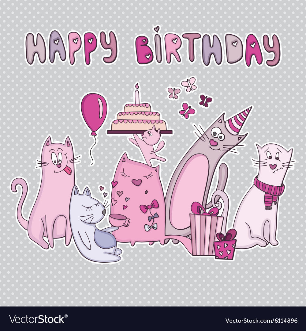 Happybirhdaycard vector