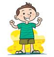 Healthy Boy vector image
