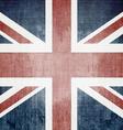 Grunge UK Flag vector image
