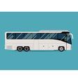 Coach Bus Icon vector image