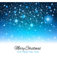 2014 Christmas Background with a waterfall of ray vector image vector image