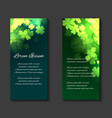 leaflets flyers brochure template vector image
