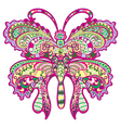 colorful butterfly vector image