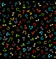 seamless music pattern vector image