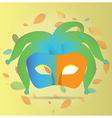 Carnival Mask vector image
