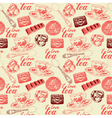 Vintage hand drawn pattern vector image vector image