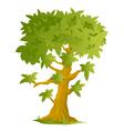 Big Cartoon Tree vector image