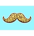 Barbershop logo Cartoon vector image