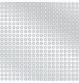 Metal background with holes vector image