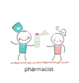 pharmacist vector image