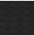 decorative pattern Black Friday vector image