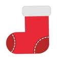 Christmas stockings isolated icon vector image
